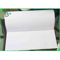 China 60gsm White Uncoated Wood Free Offset Printing Paper Virgin Pulp Style wholesale