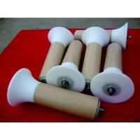 China UHMW-PE Cover Self Aligning Roller For Belt Conveyor Abrasion Resistant Side Guide Rollers wholesale