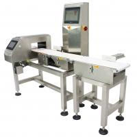 Buy cheap 10 - 80 Meter Adjustable Conveyor Weight Checker Combined With Metal Detector from wholesalers
