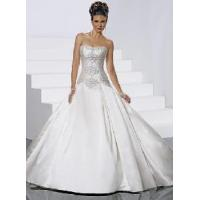 China Ball Gown Strapless Wedding Dresses wholesale
