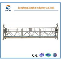 Quality High rise building cleaning suspended scaffolding / electric hoist gondola for sale
