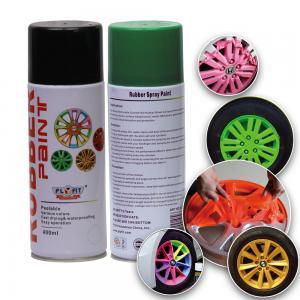 Multi Colors Rubber Spray Paint Car Fluorescent Liquid Coating Abrasion Resistant