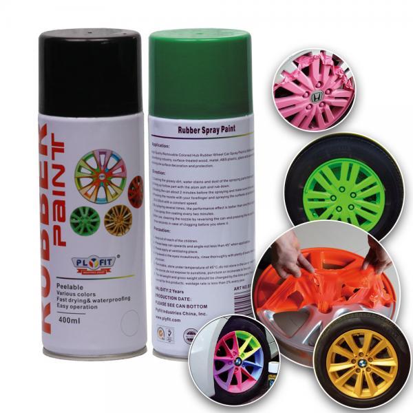 Quality Multi Colors Rubber Spray Paint Car Fluorescent Liquid Coating Abrasion Resistant for sale