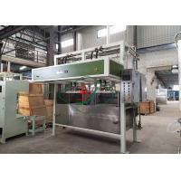 China Easy Operation Egg Box Forming Machine / Paper Pulp Molding Egg Tray Production Line wholesale