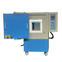 China 1700c high temperature ceramics sintering muffle furnace with large chamber wholesale