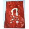Buy cheap Metal Mylar Ziplock Red Aluminum Foil Ziplock Bags 3 Side Sealing Eco Friendly from wholesalers