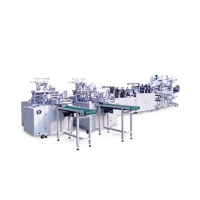 China Disposable Three Layer Outer Earloop Mask Manufacturing Machine wholesale