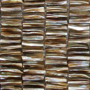 China Handmade Beautiful Sea shell Mosaic Freshwater Sea Shell Mosaic with Convex Surface 5x27mm wholesale
