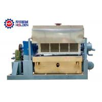 China Powerful Paper Tray Forming Machine , Egg Apple Tray Paper Pulp Making Machine on sale