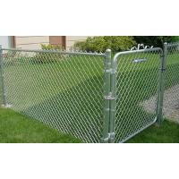 China 10 Ft Commercial 2x9 Gauge Galvanized Chain Link Fence Package Kits Complete wholesale