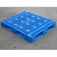 Chinese best plastic tray with bottom decussation use in storage,warehouse,transportation Manufactures