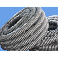 Quality Black Carbon HDPE Spiral/Corrugated Cable Casing Pipes For Telephone Cable Duction for sale