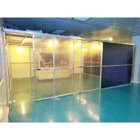 China Class 100 Hard Wall Modular Clean Room Equipment For Laboratory , Long Use Time wholesale