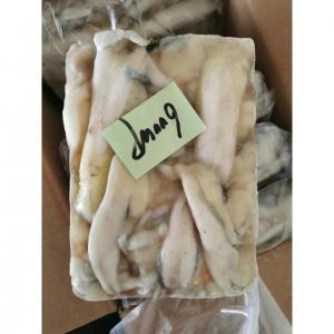 China TONGZHONGHE SEAFOOD White Block Quick Frozen Illex Squid Egg 2.5kg/Bag For Thailand Market wholesale