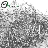China Low carbon glued steel fiber with high tensile strength of >1100MPa wholesale