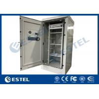 China Easily Assembled Outdoor Telecom Cabinet Galvanized Double Steel 1500W IP55 wholesale
