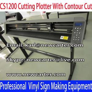 China CS1200 Cutting Plotter Creation Vinyl Cutter Pcut Vinyl Sign Cutter Contour Cutter Plotter wholesale