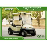 Buy cheap Beige 2 Passenger Electric Club Car Golf Cars 48v Trojan Battery from wholesalers