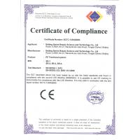 Beijing Sanhe Beauty Science and Technology Co., Ltd Certifications