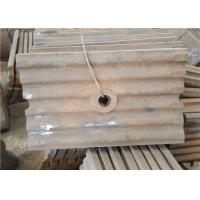 China Mn13cr2 Material Metal Casting Process Corrugated Wear Plate Iso Approved wholesale