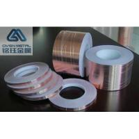 China Non - Conductive Adhesive Copper Foil Tape For EMI Shielding T0.035*W380mmx L50m wholesale