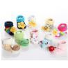 China Custom logo, design Lovely animal head anti-slip cotton infant baby socks wholesale