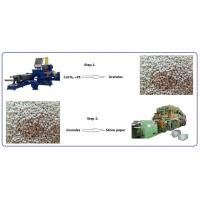 China Note Book Stone Paper Making Machine With Printing Technology / Kneader wholesale