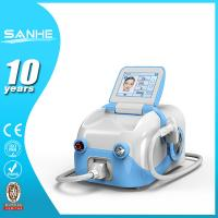 China 808nm diode laser permanent hair removal machine / 808 nm laser hair removal wholesale
