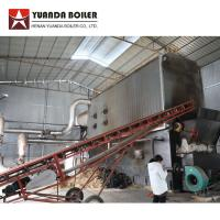 China Industrial 7000KW Chain Grate Wood Chip Wood Biomass Fired Hot Oil Boiler on sale