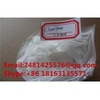 China Oral Anabolic Anti Estrogen Homebrew Steroids Clomiphene Citrate CAS 50-41-9 wholesale