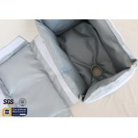 Buy cheap Thermal Insulation Materials Removable Fiberglass Jacket Grey 25mm 260℃ from wholesalers