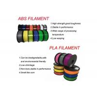 Buy cheap HIPS / ABS / PLA / HIPS 3D Printer Filament 1.75mm / 2.85mm from wholesalers