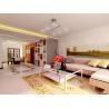 China Round Indoor Area Rugs Underfelt Square PVC Dots Nonwoven Backing wholesale
