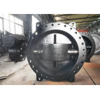 China Ductile Iron Eccentric Butterfly Valve / Water Butterfly Valve Size Range DN100 - DN3600 wholesale