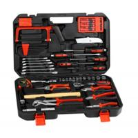 China 83 pcs professional tool set,with ratchet handle ,spark plug socket ,combination wrench . on sale