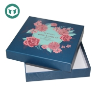 UV Coating Foldable 1800gsm Lipstick Cosmetic Cardboard Boxes