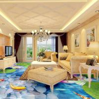 China watering Epoxy self-leveling bedroom bathroom 3D floor clear epoxy floor paint wholesale