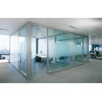 China Transparent Safety Tempered Glass Partition 12mm 15mm For Office on sale
