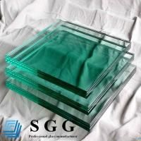 China Light Green Laminated Glass Price 8.38mm 10.38mm 12.38mm wholesale