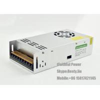 Quality Non - Waterproof IP20 400 W 12VDC 24VDC LED Light Power Supply 33A 16.6A for sale