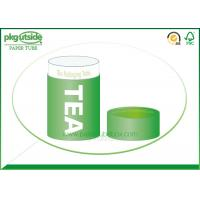 Quality Food Grade Green Tea Tube Packaging Handmade High End Environmentally Friendly for sale