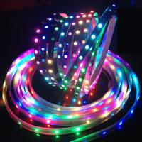 China Dreamful color DC5v Ws2812B LED Strip , epistar chip rgb LED pixels for night club wholesale