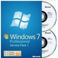 China 32 bit / 64 bit Windows 7 Pro Retail Box Windows 7 Home Premium with COA sticker wholesale