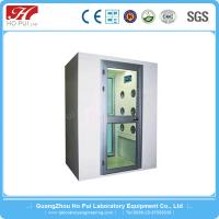 China Custom Single Person Cleanroom Air Shower SS 304 PCL Control wholesale