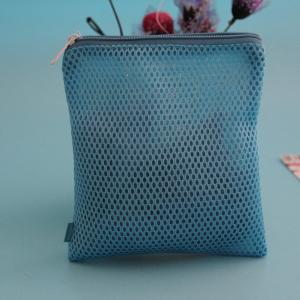 China Label Logo Mesh Fabric Lingerie Socks Underwear Wash Bag on sale