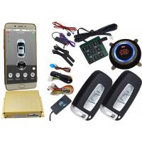 Gps Auto Tracking Vehicle Security Alarm System 12V / 24V Mobile App Central Lock Or Unlock Manufactures