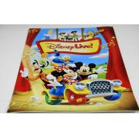 China Custom CMYK Disney Small Magazine Printing Services With 300gsm glossy art paper Cover wholesale