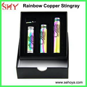 Quality Copper stingray mod cool Vapor rainbow e cig stingray mod for sale