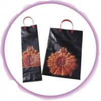 China Small Plastic Bags With Handles , Promotional Loop Handle Bags on sale