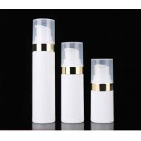 Buy cheap Full range skin care plastic PP airless cosmetic bottle 15ml 30ml 50ml from wholesalers